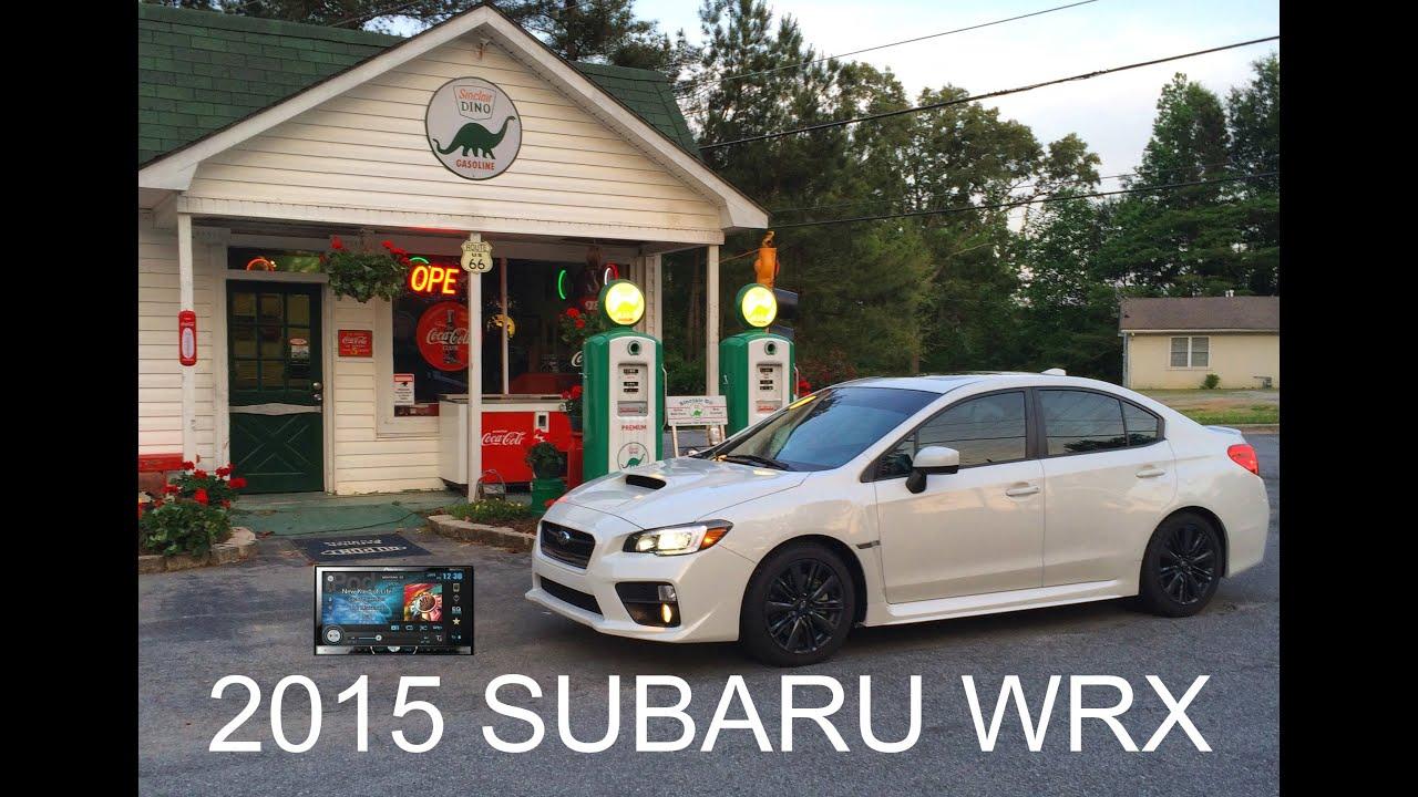 2015 subaru wrx pioneer avhx5600bhs install - youtube