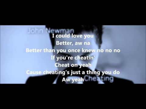 John Newman - Cheating (Lyrics Video) + Free mp3 download!