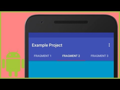 Tab Layout with Different Fragments - Android Studio
