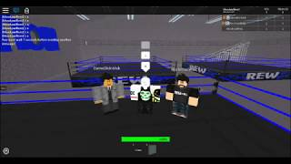 (Roblox Extreme Wrestling Discussion/Interview) Ft.DameDidentAsk, Rockmaster02. :Part 1: