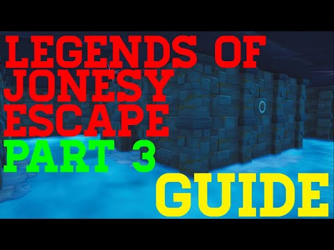 How To Complete The Legend Of Jonesys Escape Part 3 By Abizzle5 - Fortnite Creative Guide