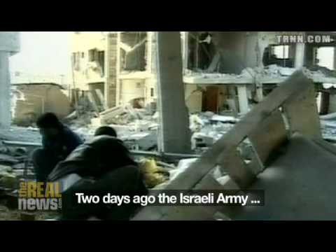 Israeli troops attack Gaza City