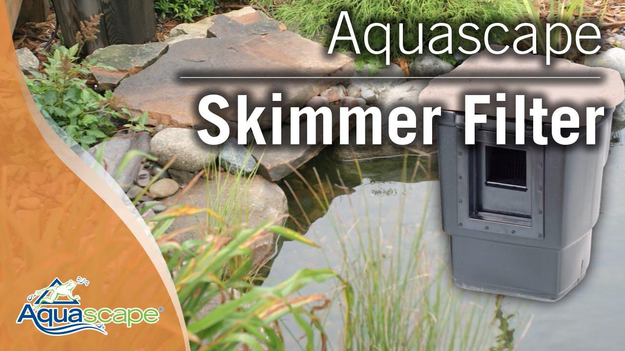 Pond Skimmers Aquascape