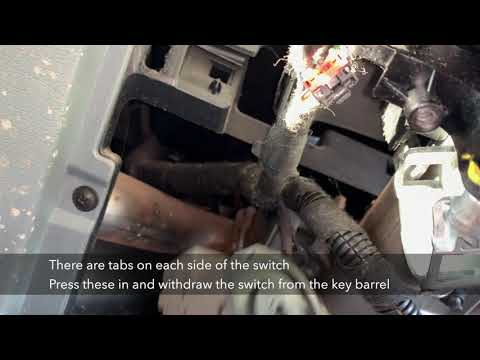 Transit Key Barrel Switch Repair Youtube