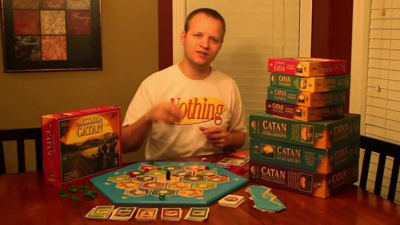 The Settlers of Catan Board Game Review - YouTube