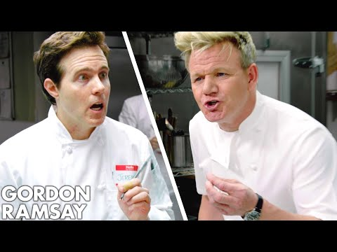 Gordon Ramsay Teaches Students at the Academy of Kitchen Outrage // Omaze