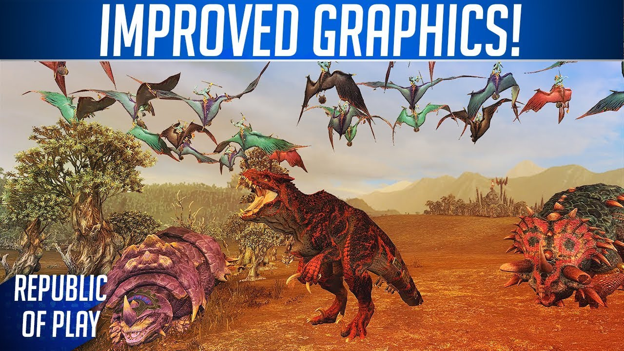 IMPROVED GRAPHICS! - Total War: WARHAMMER 2 Mod Compilation