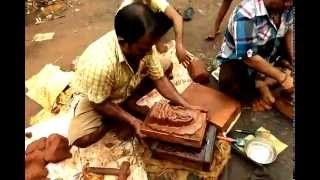 How to make vinayaka statue with clay in easy method