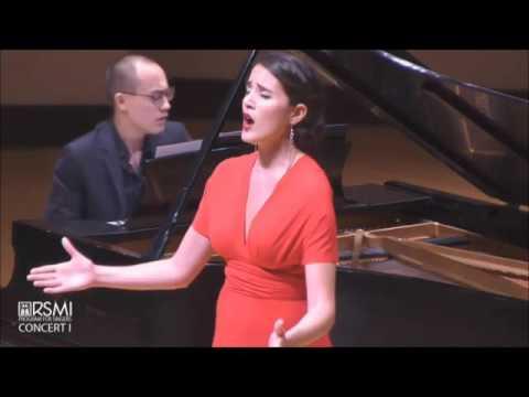 Shahar Lavi, mezzo Soprano, Ravel 2 Hebrew songs