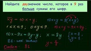 Задачи по математике для 5 класса. Урок 5