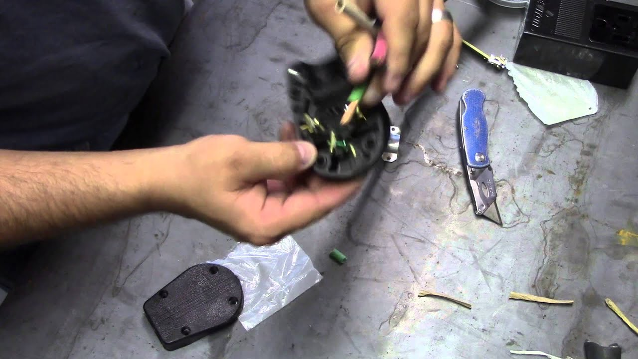 WET #29 How to Wire a 220V 6 50 NEMA Extension Cord - YouTube