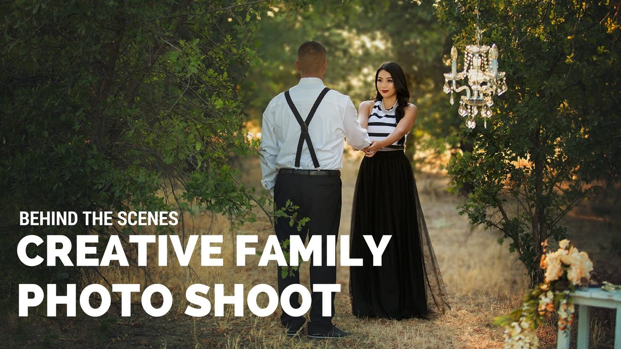 The Most Creative Family Photo Shoot Behind the Scenes ...