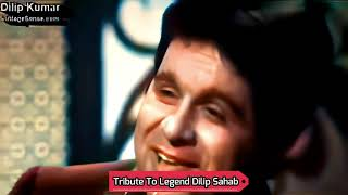 Rare Interview Of Dilip Kumar In Color 4K   Dilip Kumar, Live Interview, Tragedy King
