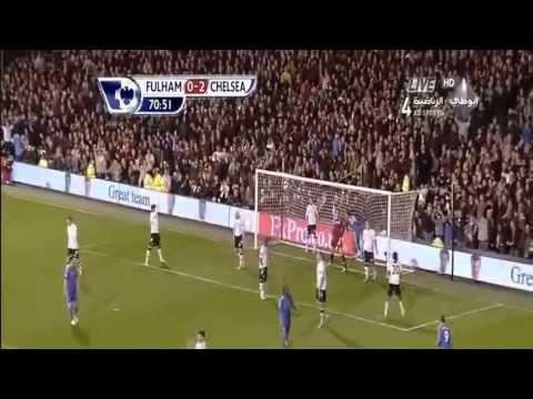 Fulham 0-3 Chelsea 17/4/2013 [PREM] HD