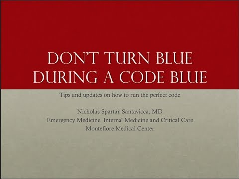 Don't Turn Blue During a Code Blue