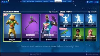 Fortnite Season X New Item Shop Reset New Guaco Skin, Taco Time Emote, Forever Tuesday Animated Wrap