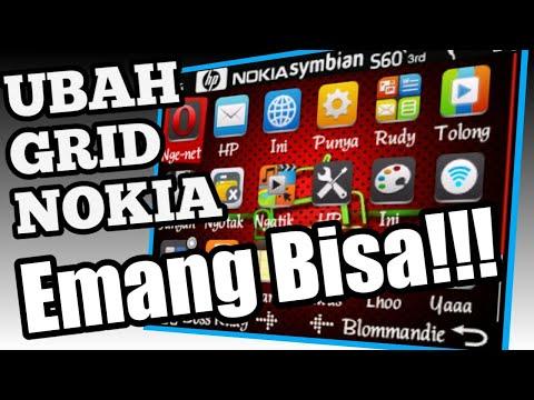 Symbian Os Nokia E63   Cara Ubah Grid Menu Nokia E63 Symbian