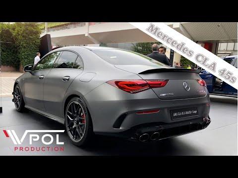 Обзор на Mercedes CLA 45s Coupe. Умеет все?