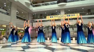 プア・ケニケニ‐①/サンシャインシティB1F噴水広場/東京フラフェスタin 池袋2015(初日)
