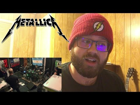 Metallica Spit Out the Bone Tuning Room Reaction!