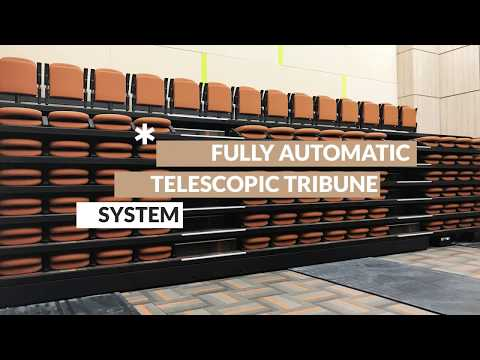 Fully Automatic Telescopic Tribune