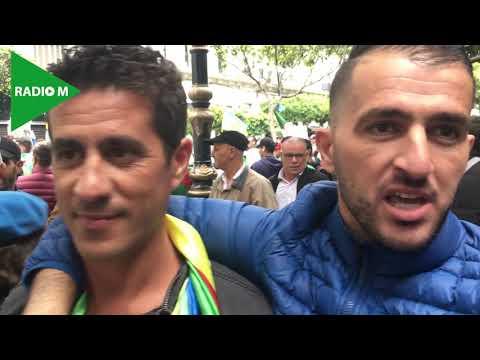 #Algérie #Hirak  9e Vendredi de protestation: RadioM au coeur du HIRAK