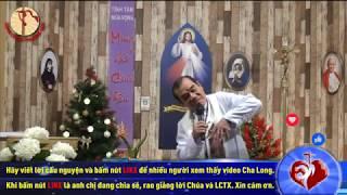 Cha Long - Ngày 13/12/2019 – Thứ sáu tuần II Mùa Vọng