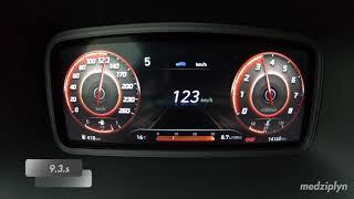 2021 HYUNDAI KONA 1.6T-GDi 4WD 7DCT 198Hp Acceleration 0-100-160km/h, 80-120km/h 60-100km/h