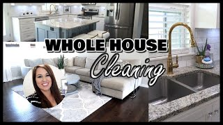WHOLE HOUSE CLEANING | SOULFUL CLEAN WITH ME | CLEANING MOTIVATION