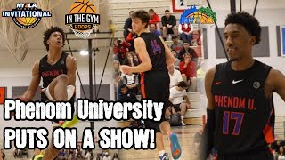 Phenom University PUTS ON A SHOW! Has Fun with It in Win