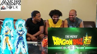 Dragon Ball Super Broly Movie Trailer english REACTION!