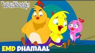 Eena Meena Deeka | Dhamaal Gags - 04 | Funny Cartoons for Kids | Wow Toons