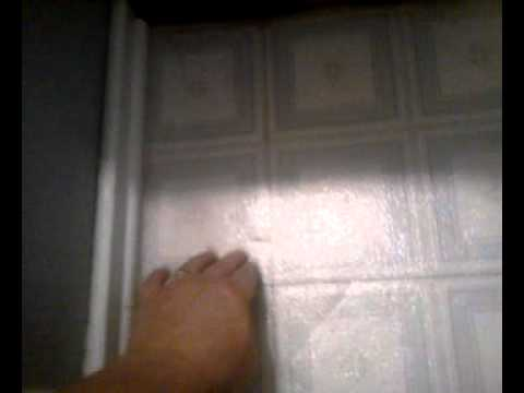 Laying Tile Over Vinyl Bathroom Floor Tile Youtube