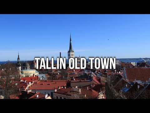 Trip to Tallinn Old Town - Estonia 2018
