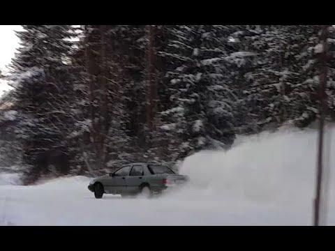 Ford Sierra Ohc Pinto Drift 2.0 Winter Fun LPG Snow Drift