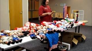 My Raggedy Ann & Andy Lesson for my Doll Club