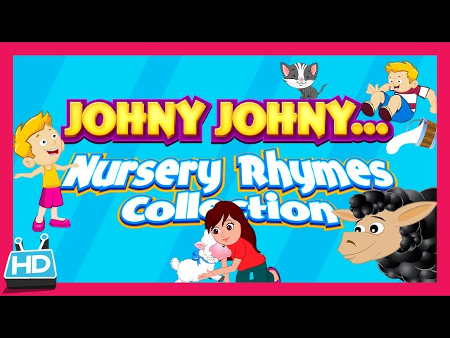 Best Nursery Rhymes Collection – Johny Johny Yes Papa and more | Kids Hut