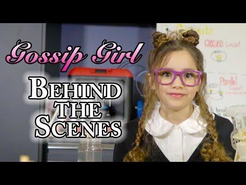 Haschak Sisters - Gossip Girl (Behind the Scenes)