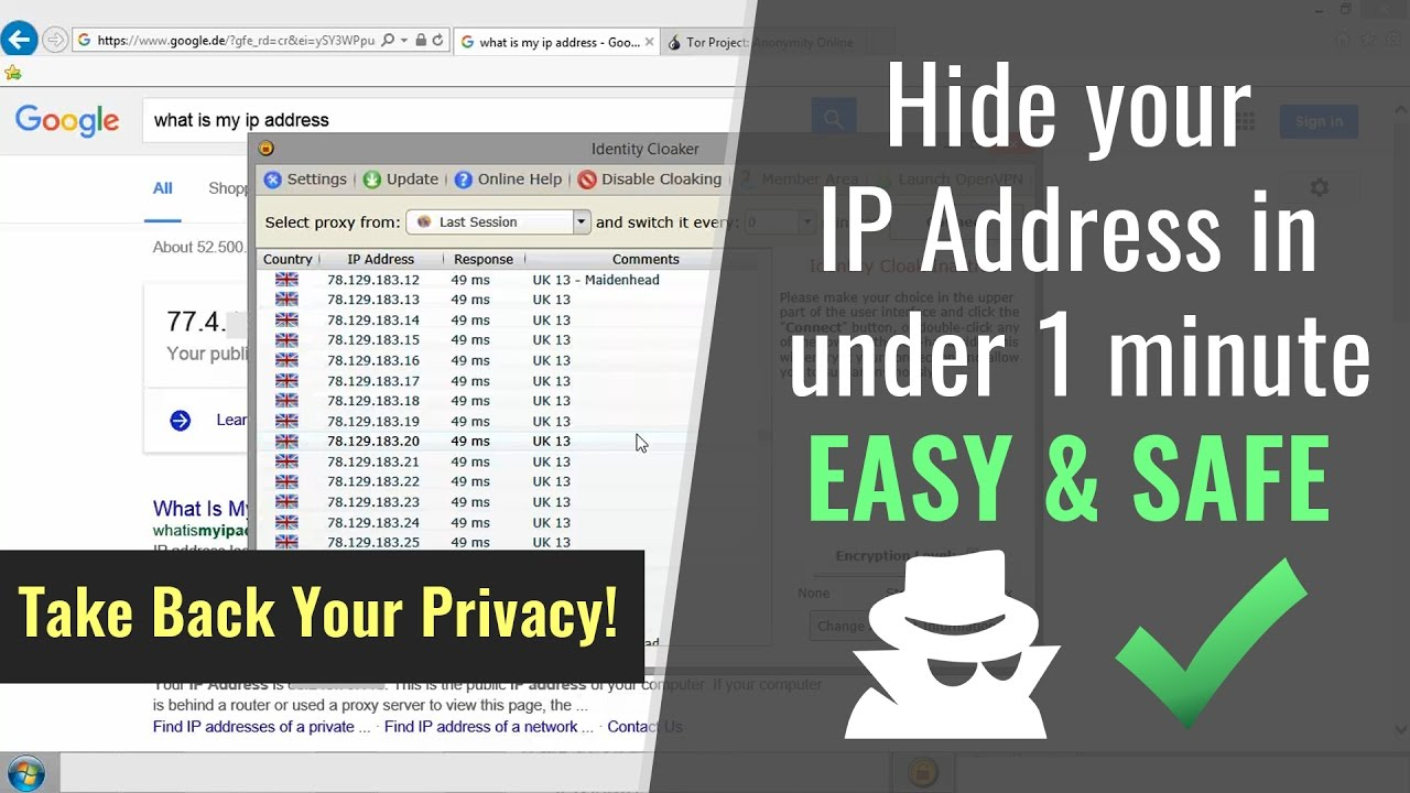 How to Block Your IP Address