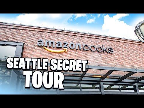 Amazon Books Store Seattle Secret Tour
