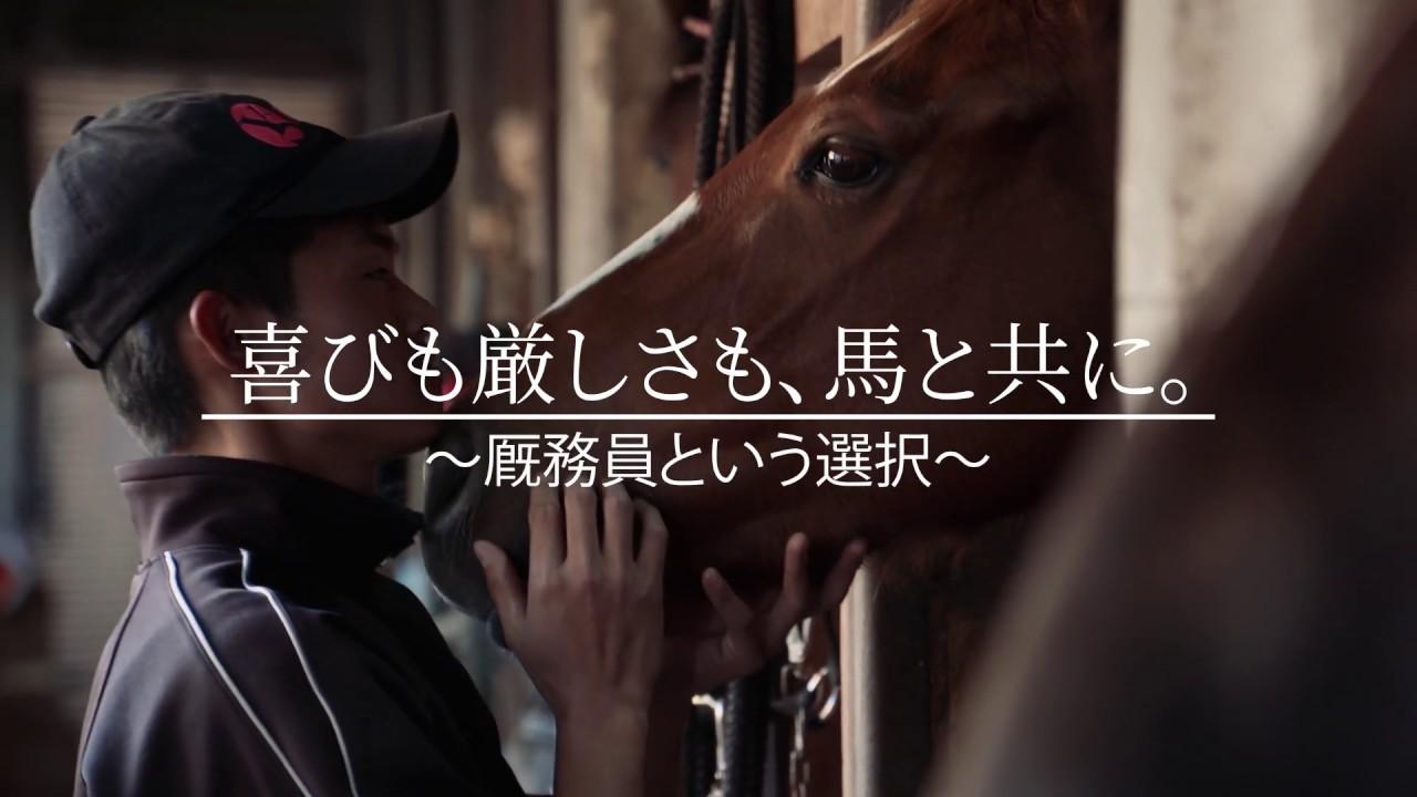 馬と生きる ~地方競馬 厩務員(きゅうむいん)~ - YouTube
