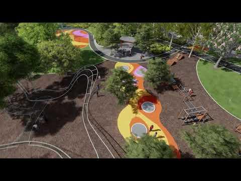 Wellington Square Upgrade - Design Flythrough