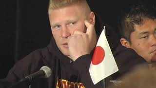 Video Flashback -- Brock Lesnar Before His MMA Debut at K-1 Dynamite USA