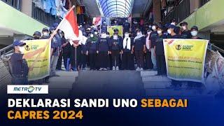 Relawan Kawan Sandi di Lombok Deklarasi Dukung Sandiaga Uno Maju Pilpres 2024