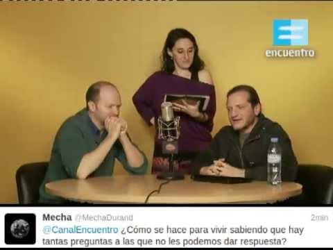 Ciclo de Twitcam II: Versus (Diego Golombek y Darío Sztajnszrajber) - Canal Encuentro