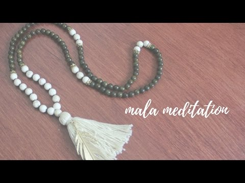 How to Use Mala Beads for Meditation