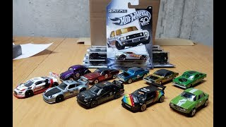 AWESOME Hot Wheels Haul! Euro Speed, 50th Redline Set, Zamac Flames series!