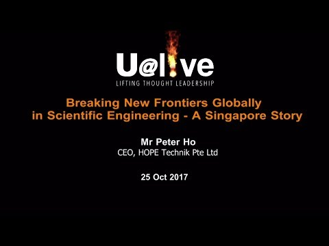 2017 Oct U@live featuring Mr Peter Ho