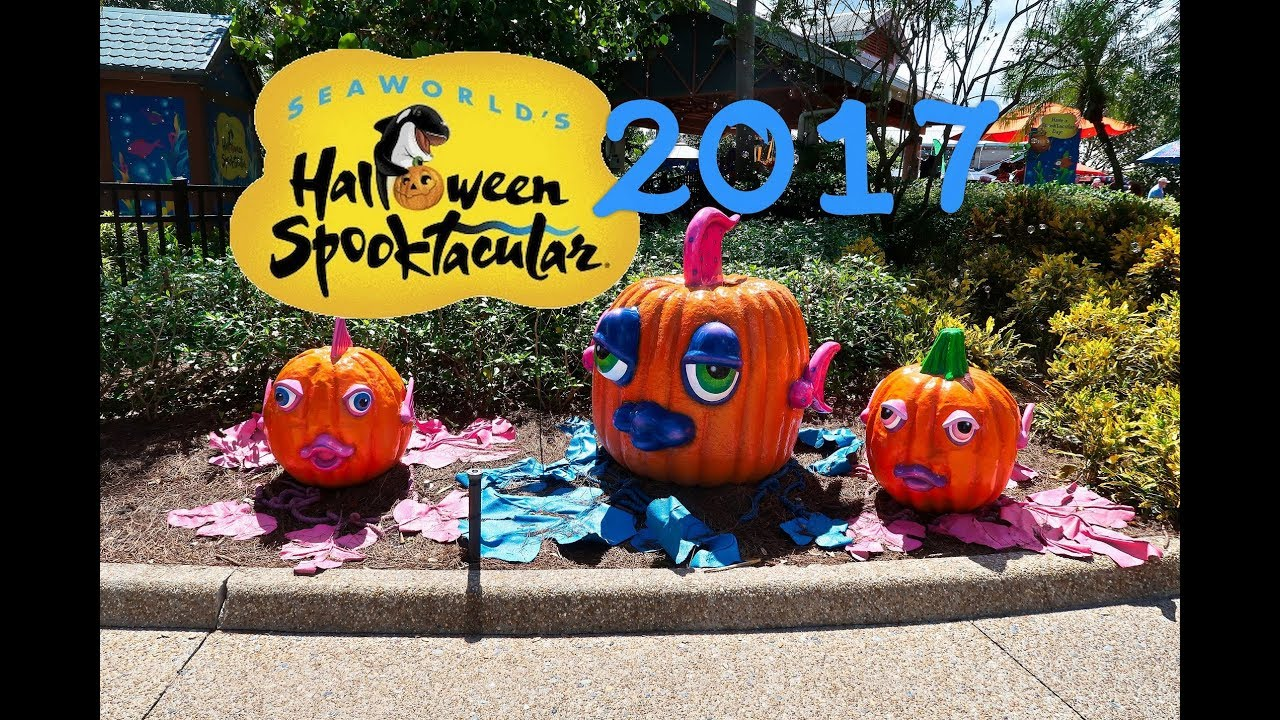 Halloween Spooktacular Seaworld.Seaworld Halloween Spooktacular Trick Or Treating Orlando 9 30 17