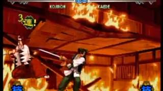 [LB2] The Last Blade 2 : Heart of the Samurai all characters combo video
